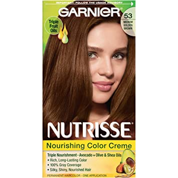 Amazon.com: Garnier Nutrisse Nourishing Hair Color Creme, 53 ...