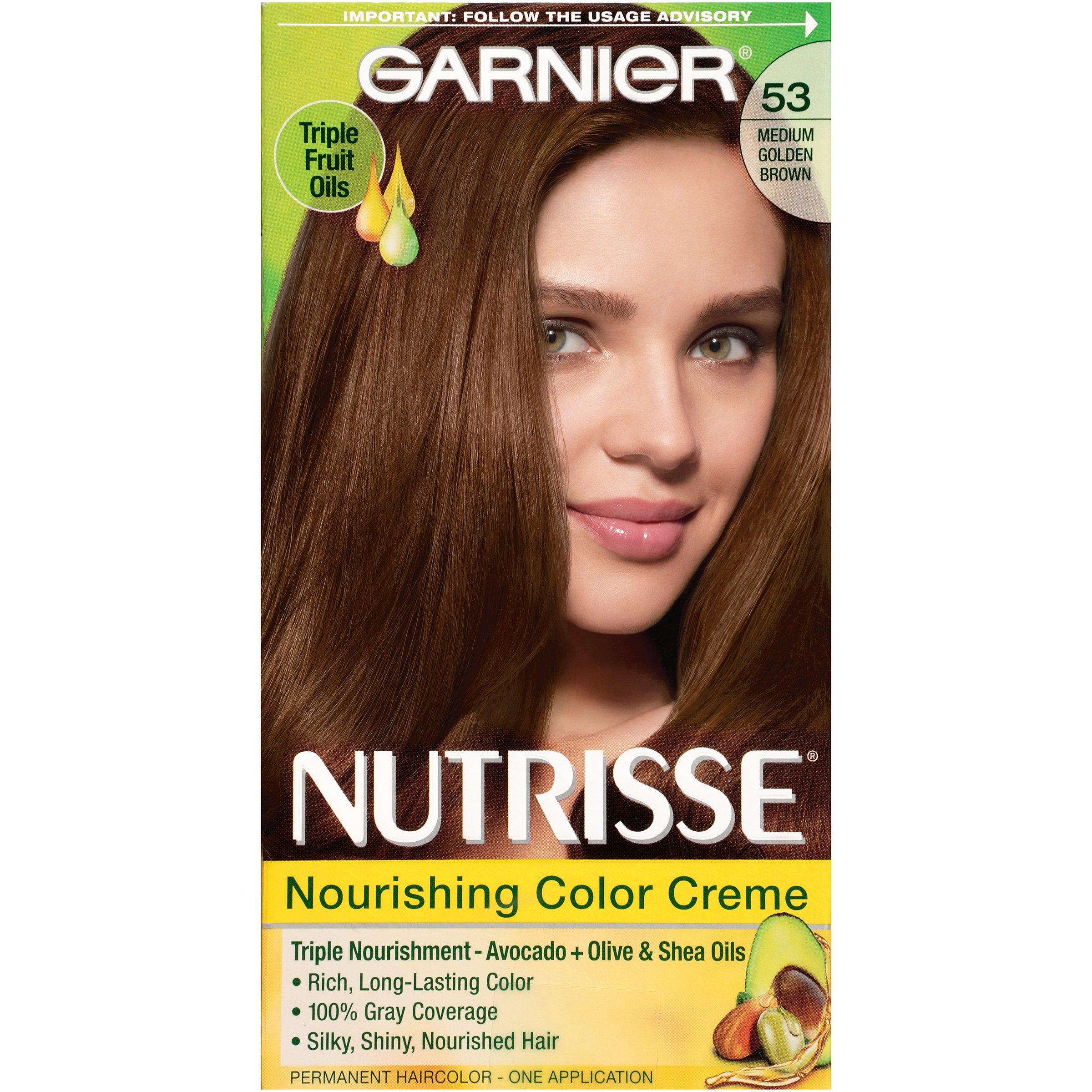 Amazon garnier nutrisse nourishing hair color creme 20 soft garnier nutrisse nourishing hair color creme 53 medium golden brown chestnut packaging nvjuhfo Gallery
