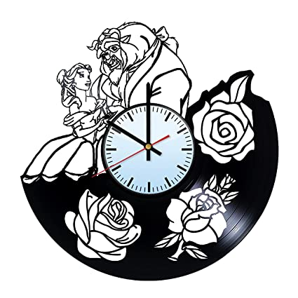 Get Unique Room Wall Decor Modern Unique Home Art Design Nightmare Before Christmas Ornament Handmade Vinyl Record Wall Clock Gift Ideas For His And Her Clocks