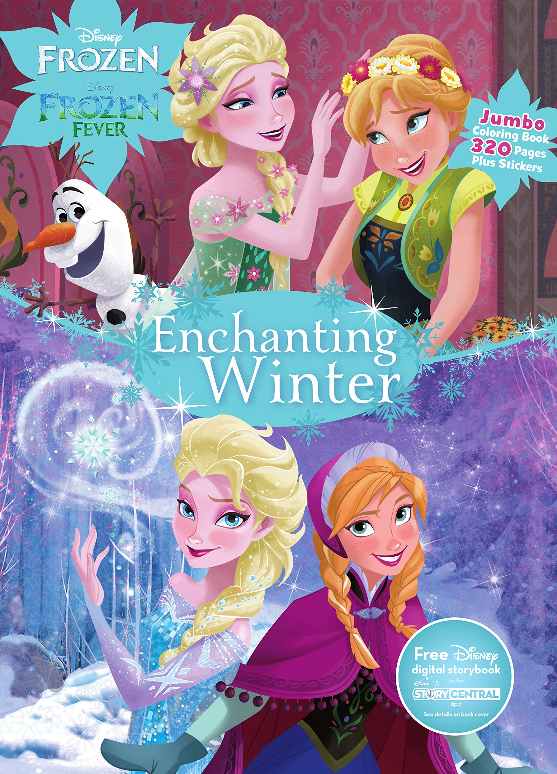 Disney Frozen Enchanting Winter (Jumbo Coloring Book ...