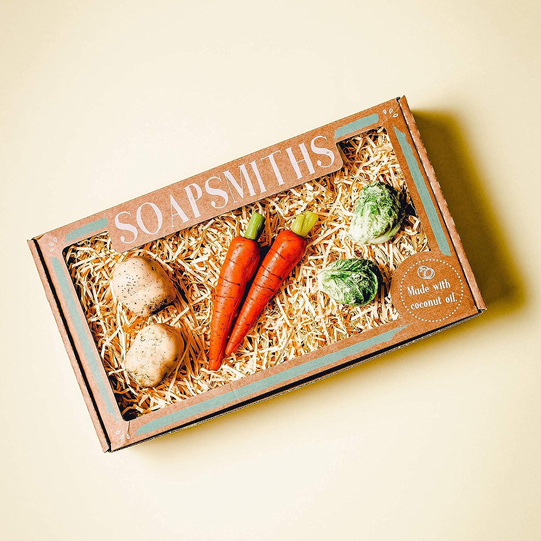 Ultra Detailed Soap Vegetables Gift Box Set - Eco-Friendly Gift Box - Vegan & cruelty-free cosmetics
