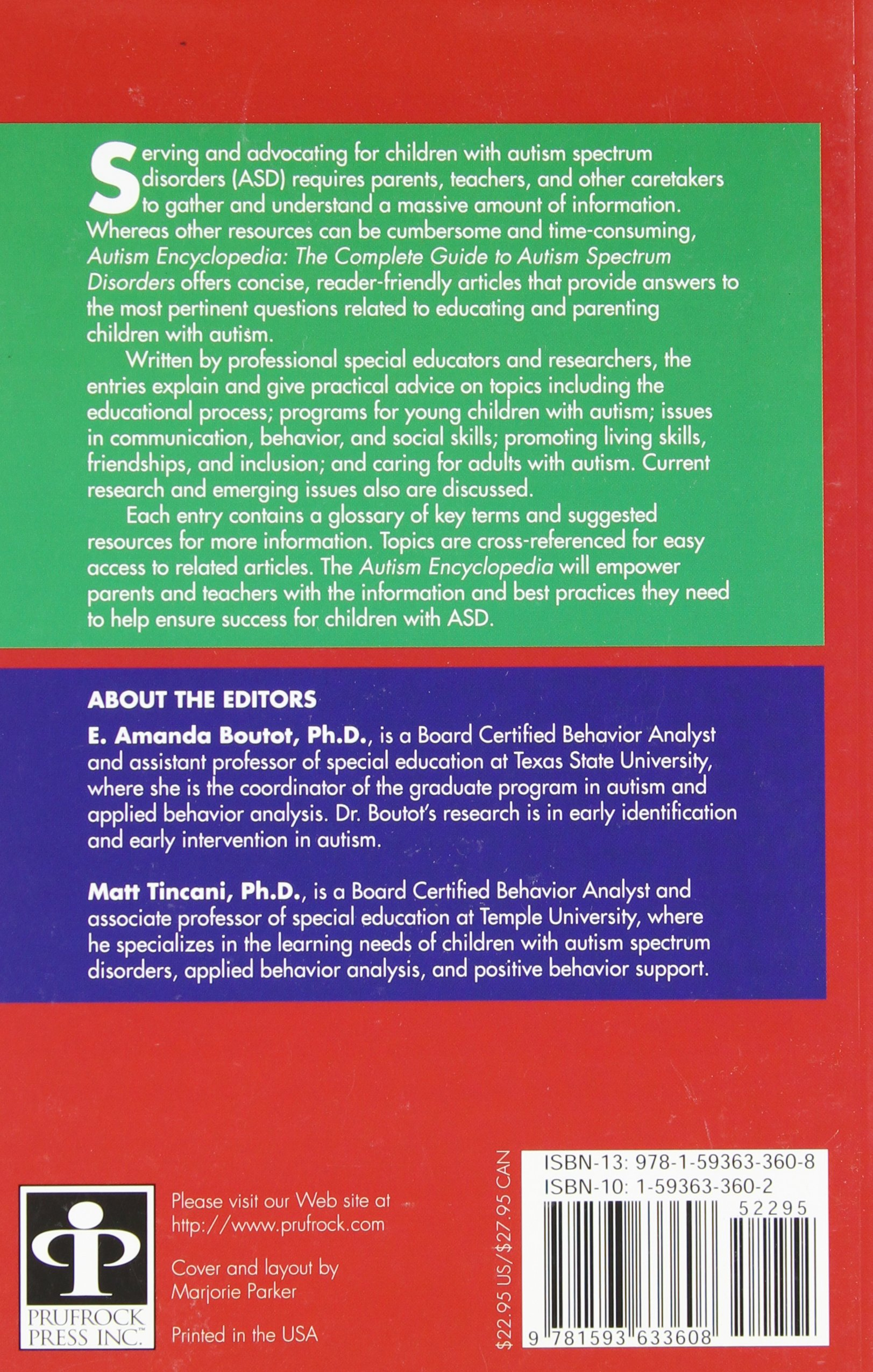 Autism Encyclopedia The plete Guide to Autism Spectrum