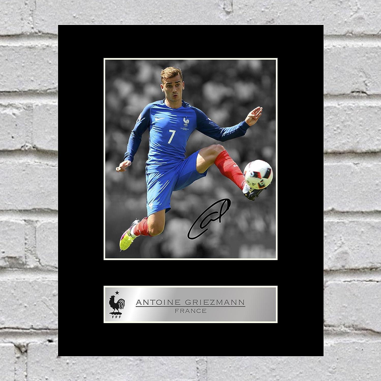 Foto firmada de Antoine Griezmann Francia FC, imagen de regalo autografiada