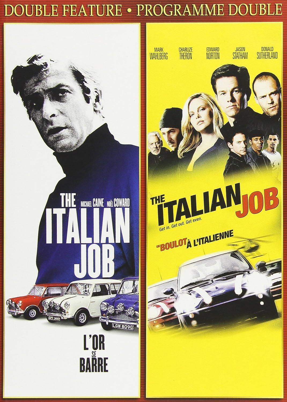 The Italian Job 1969 / The Italian Job 2003 Double Feature: Amazon.co.uk:  DVD & Blu-ray
