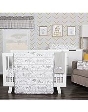 Waverly Congo Line by Trend Lab 5 Piece Crib Bedding Set, Nursery, Gray