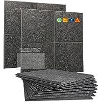 A2S - Paneles de pared insonorizables para aislamiento acústico, paneles de amortiguación de sonido, almohadillas…