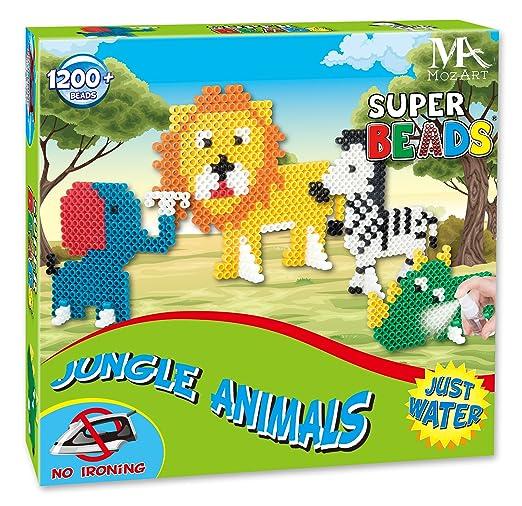 2 opinioni per Jungle Aqua Beads per i bambini- Playset