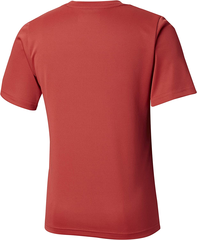 Columbia Youth Boys PFG Finatic Short Sleeve Shirt Moisture-Wicking UV Protection
