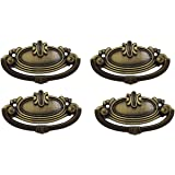 Fun N Shop Antique Design Cupboard Drawer Folding Handle, 8 x 4 cm (Pack of 4)