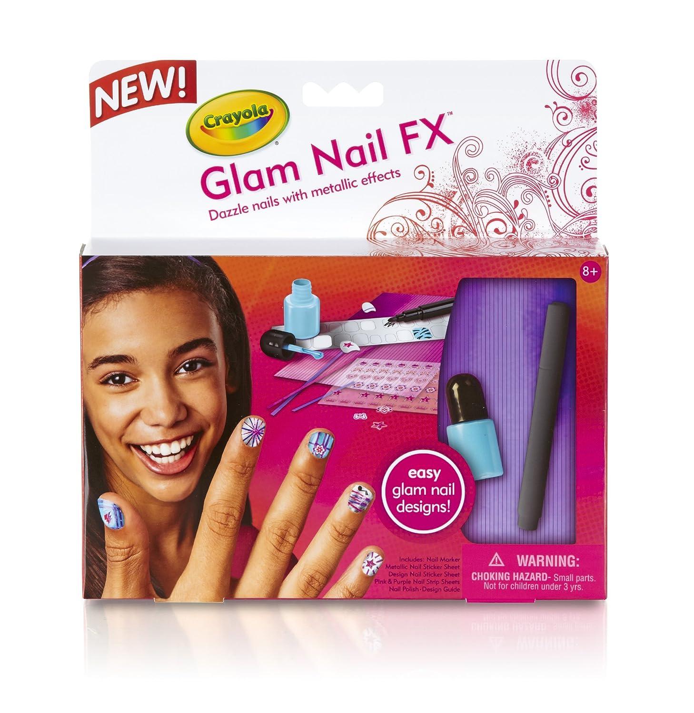 Amazon.com: Crayola FX Nail Glam: Toys & Games