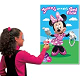 Amscan Disney Minnie Mouse Party Game, Pink