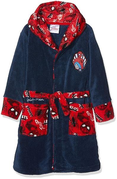 Marvel Spiderman Good Night, Bata para Niños, Blue (Navy 19-4026tc) 3 años: Amazon.es: Ropa y accesorios