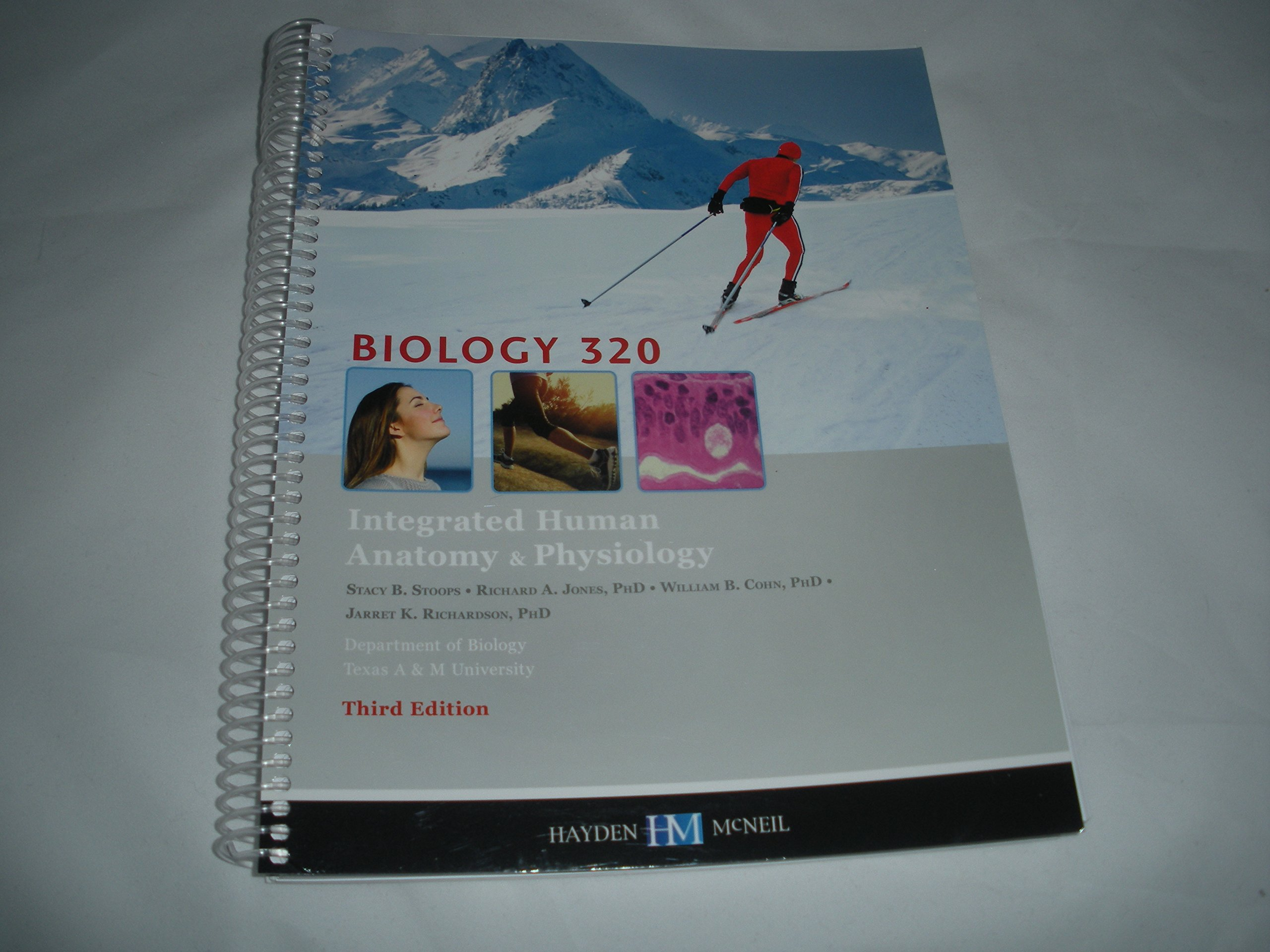 Biology 320 Integrated Human Anatomy & Physiology 3rd Edition ...