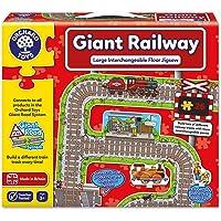 Orchard_Toys Gigante de Tren de Rompecabezas (Multicolor)