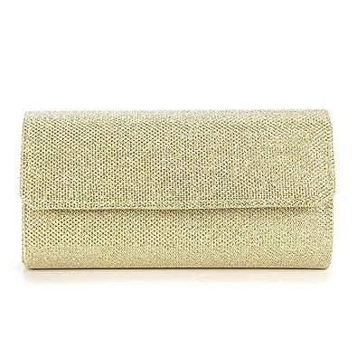 Handtasche Abendtasche Elegante Kettentasche Damen Tasche Clutch Bag Kleidung & Accessoires