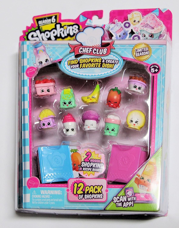 Shopkins Set Season 6 B01N4F6JH2 Chef Club 12 Pack Pack Set 14 B01N4F6JH2, 菊間町:6dfea200 --- arvoreazul.com.br