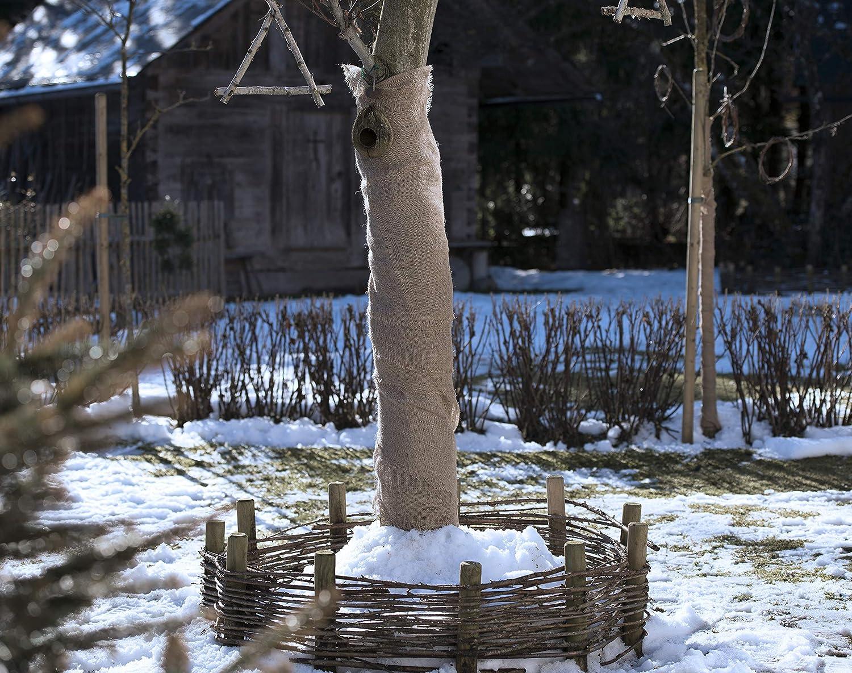 braun /& Jute-Schnur Jutegarn Bindegarn Bindeschnur Windhager Gartenvlies Jute-Gewebematte Winterschutz K/älteschutz Frostschutz,/ideal auch zum Dekorieren Natur beige 4 mm x 50 m 0,91 x 4 m