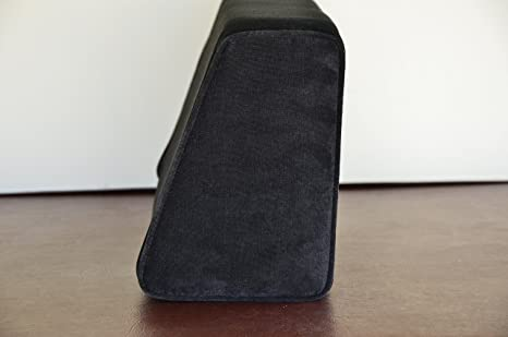 Amazon.com: Wedge cojín cilíndrico con tapa (terciopelo ...