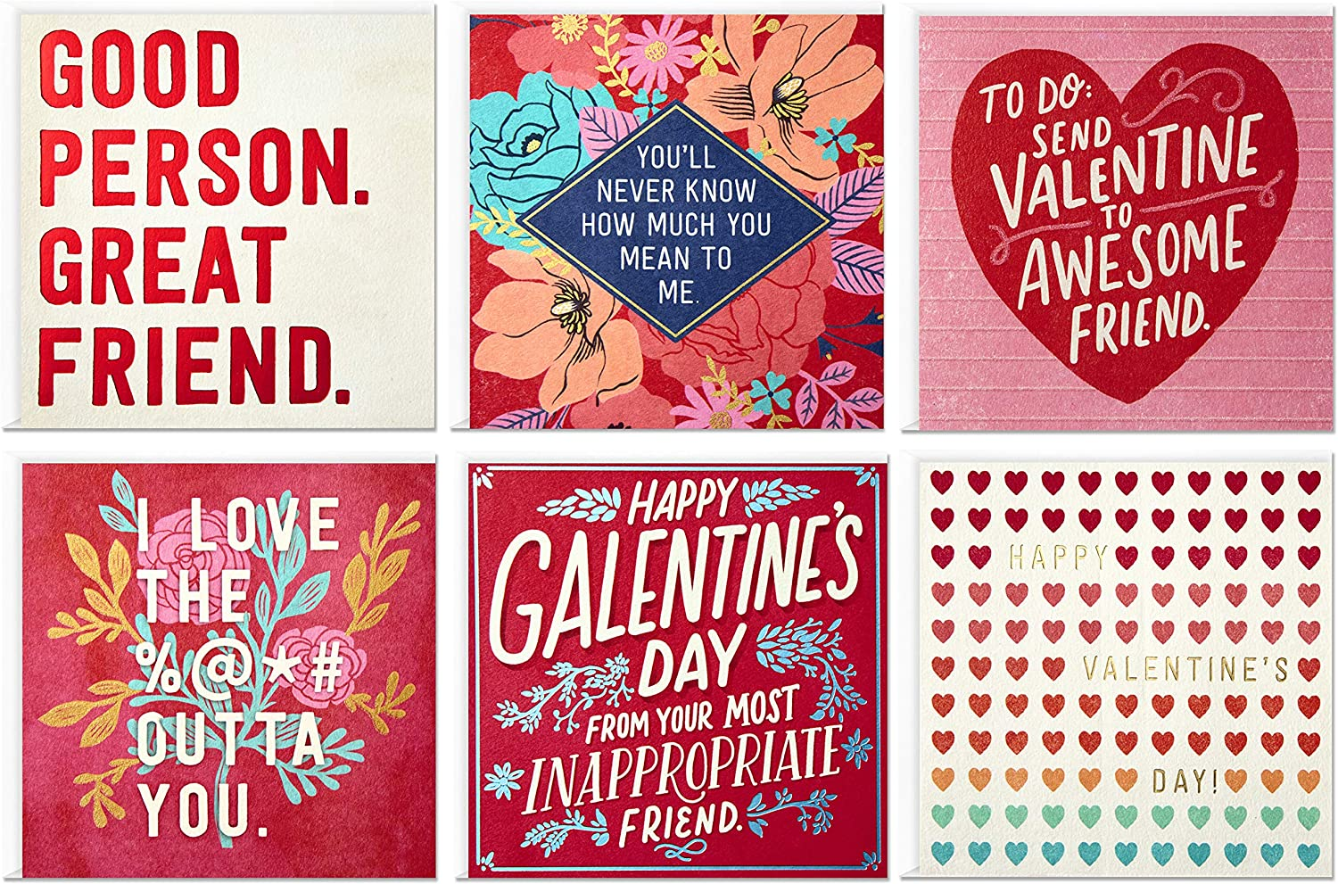 Love You Card Just Because Romantic Greeting for BF GF Funny Office Valentines Card Happy Anniversary Love Card Cute Dwight Love Card