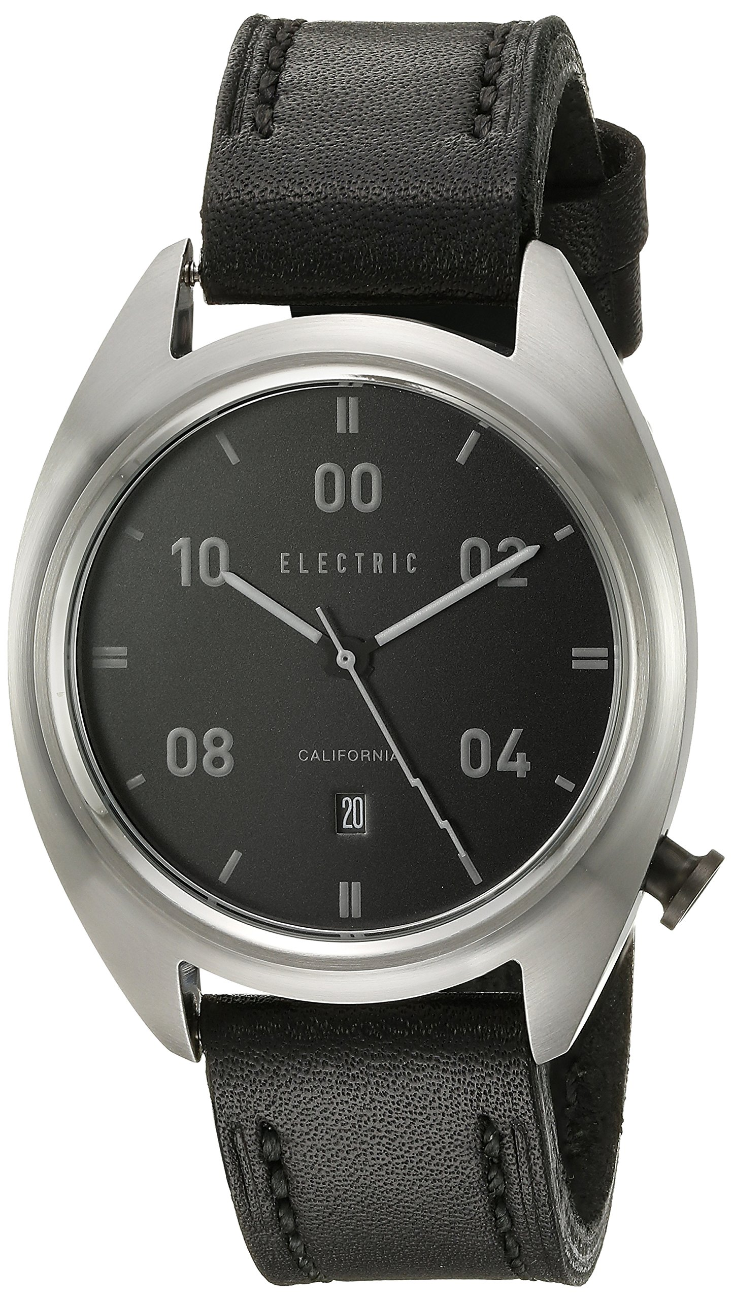 Electric Unisex EW0150050001 Analog Display Japanese Quartz Black Watch