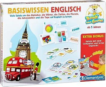 Clementoni 69845 - Juego educativo para aprender inglés básico (en alemán) [importado de Alemania]: Amazon.es: Juguetes y juegos