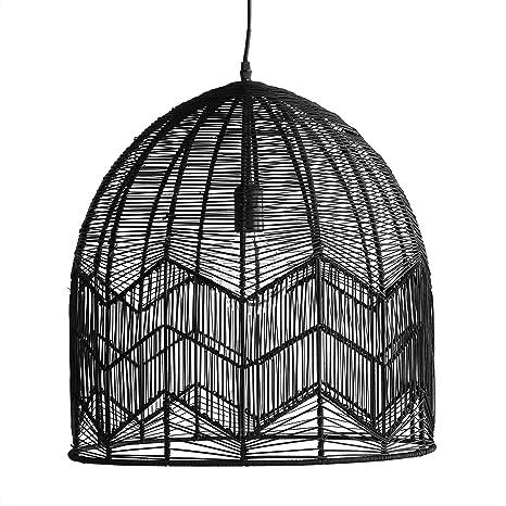 Kenay Home Elga Lámpara de Techo Decorativa, Negro