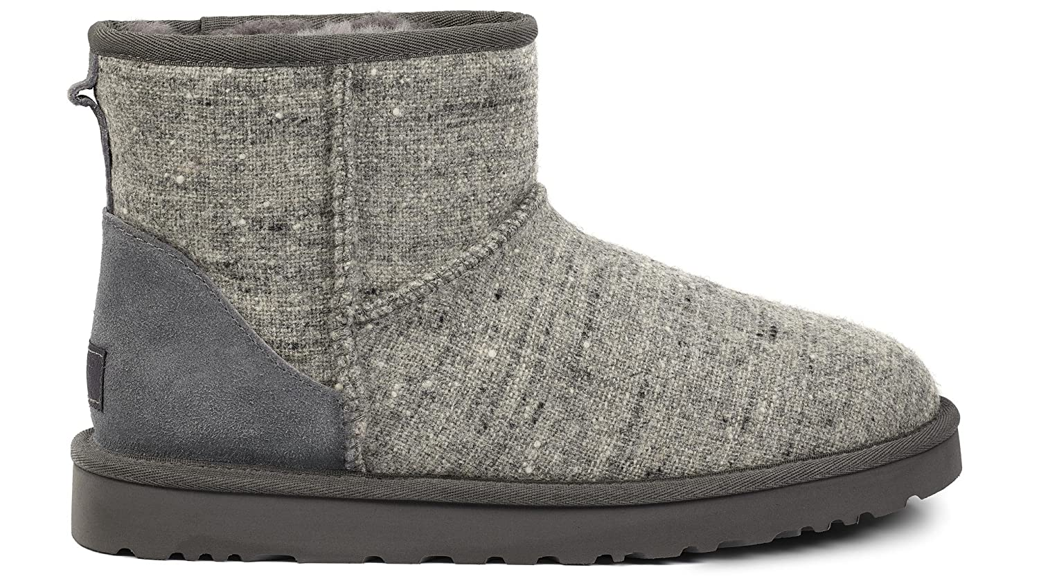 UGG Men's Classic Mini Donegal Boot Grey Donegal