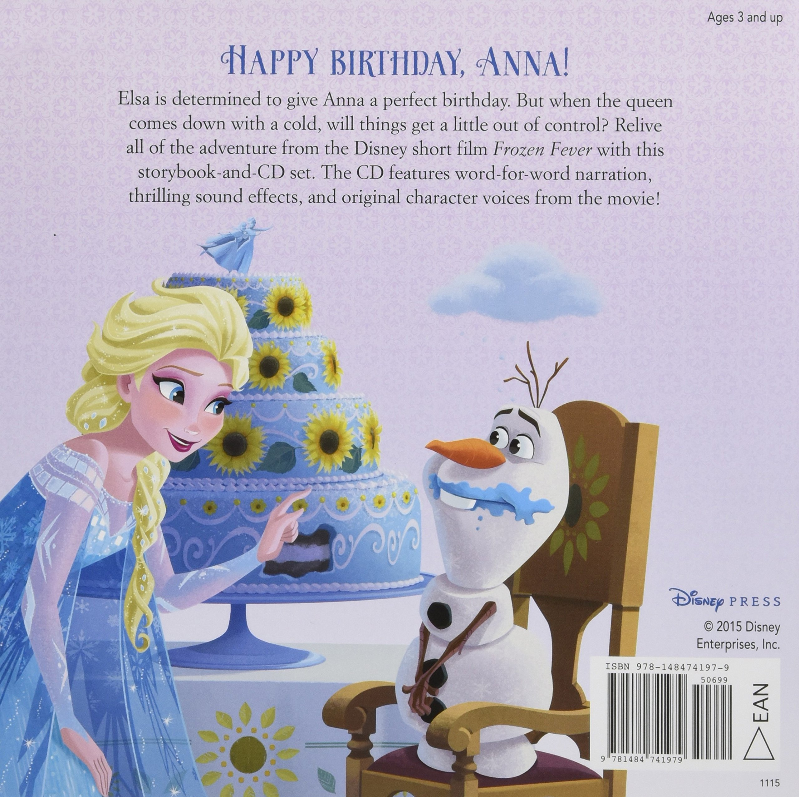 Buy Frozen Fever Read Along Storybook And Cd Book Online At Low Prices In India Frozen Fever Read Along Storybook And Cd Reviews Ratings Amazon In