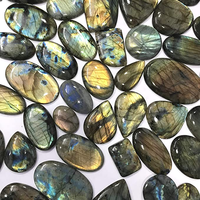 - One side Polished Extra Quality Labradorite Spectrolite Stone Standing Spectrolite Crystal Healing Crystals /& Stones 230g- 700g