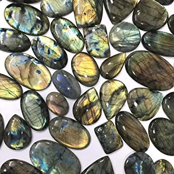 Quality Making Pendant Labradorite Gemstone Pear Shape 88  Cts Size 44x31x7    P1#368 100/% Natural Purple Labradorite Gemstone Cabochon A