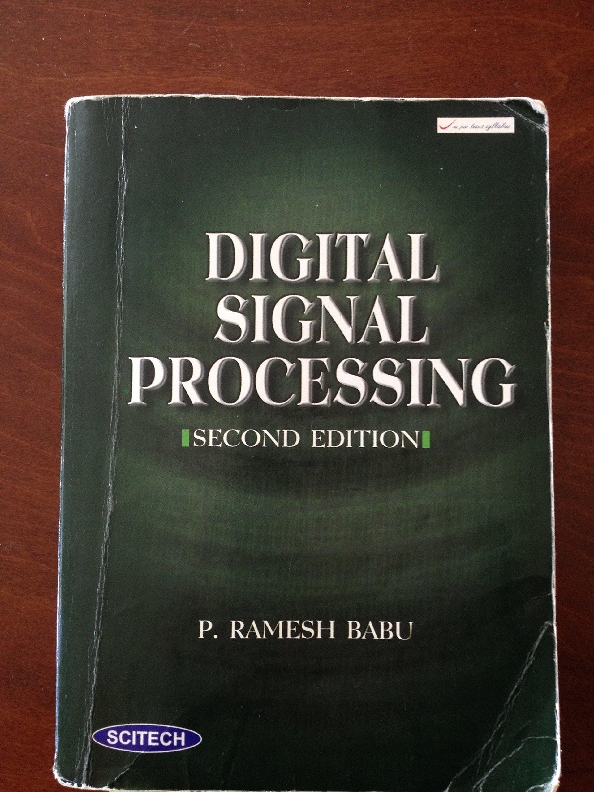 free dsp ramesh babu e-books