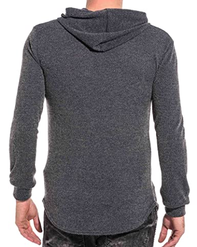 Uniplay Men39s Pullover Fine Anthracite Mesh Hoodie - Color Grey, Size: S:  Amazon.co.uk: Clothing