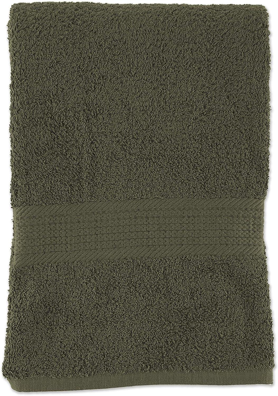 DII Provence Extra Large Bath Sheet, 30x60, Olive