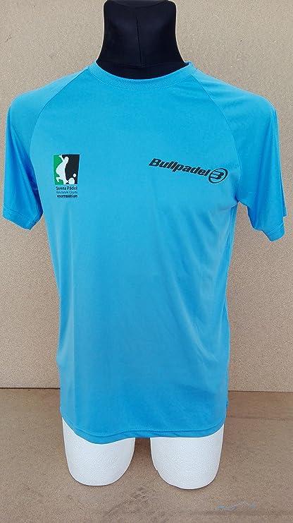 Camiseta BullPadel (XL, Azul claro)