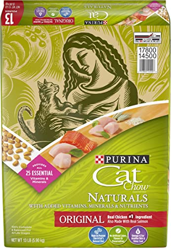 Purina Cat Chow Naturals Original With Real Chicken Salmon Adult Dry Cat Food