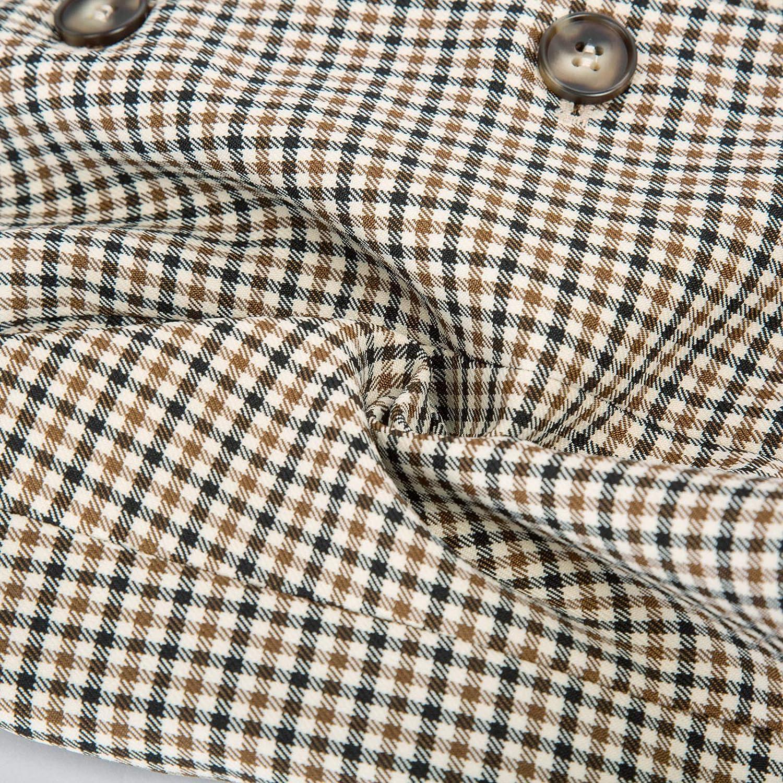 Belle Poque Womens Vintage Waistcoat Vest Halter Neck Button Down Dressy Vests