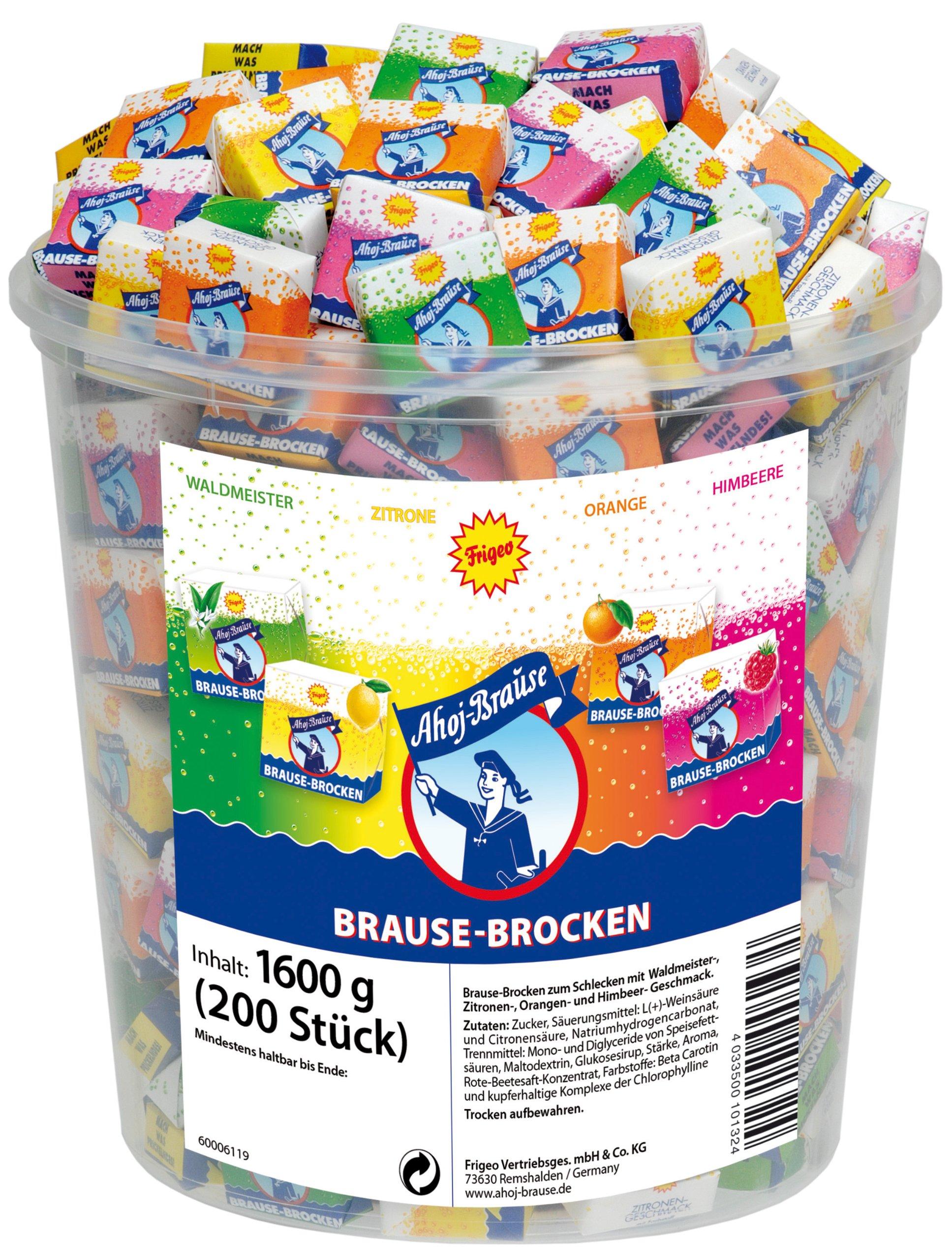 Frigeo Ahoj Brause Brocken fizzy candy, 200pcs by Frigeo