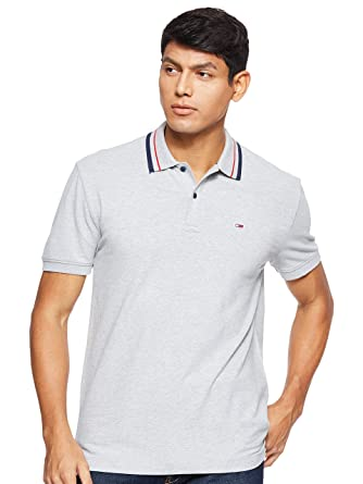 Tommy Hilfiger TJM Tommy Classics Stretch Polo Hombre: Amazon.es ...