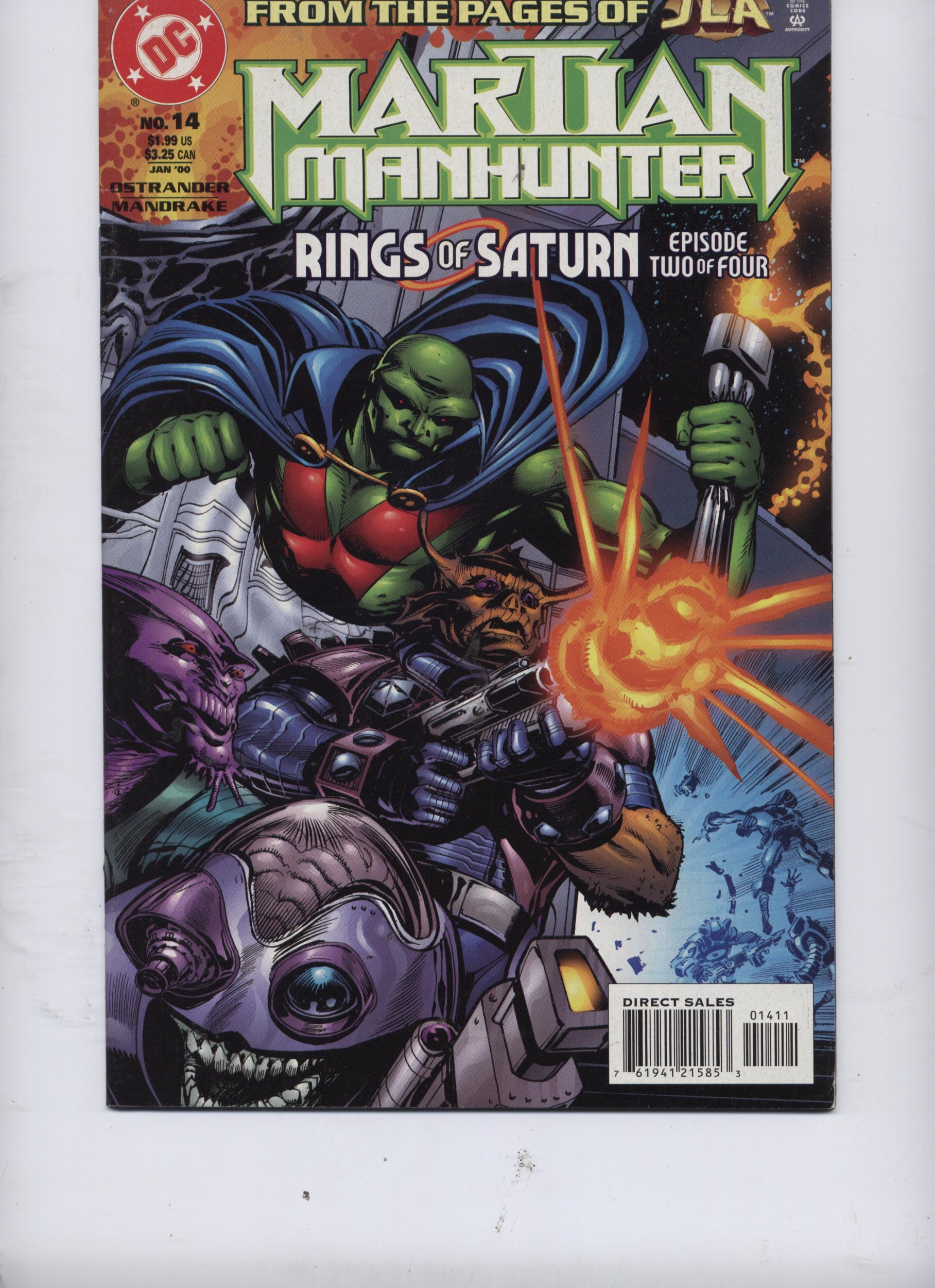 Download Martian Manhunter #14 (Rings of Saturn, Episode Two of Four) PDF