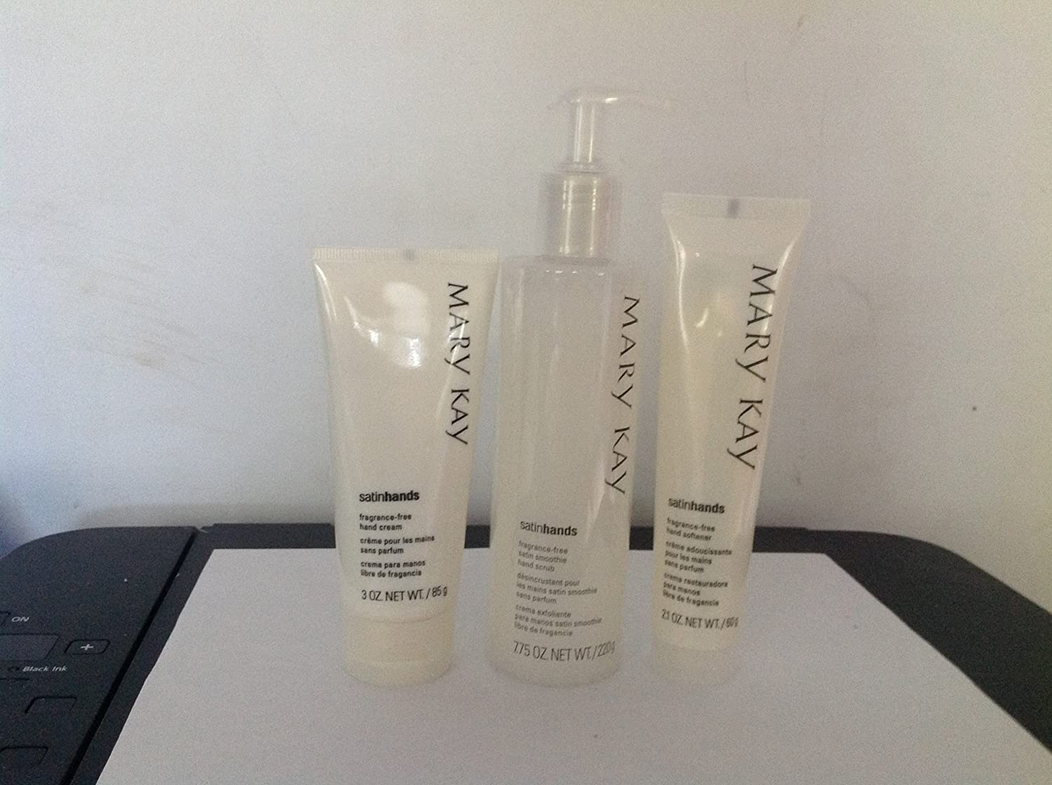 Mary Kay Fragrance Free Satin Hands Pampering Set