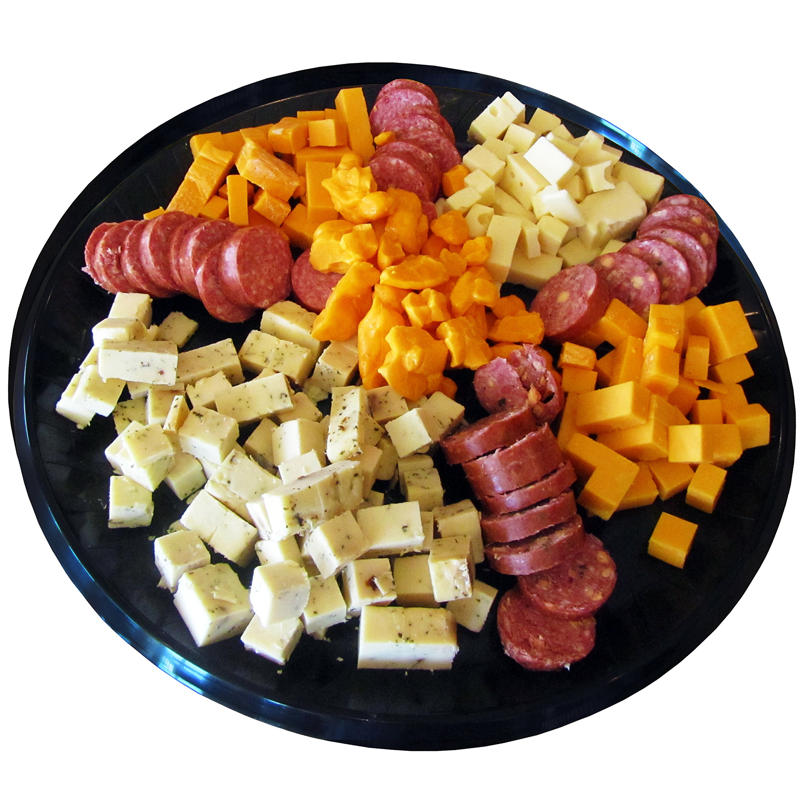 Gourmet Variety Sampler Gift Basket - Smoked Summer Sausages & 100% Wisconsin Cheeses - GLUTEN-FREE - Perfect Cheese and Sausage Snack!! by WISCONSIN'S BEST and WISCONSIN CHEESE COMPANY (Image #2)
