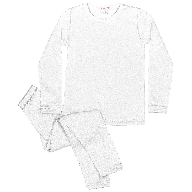 Amazon Rocky Girls Fleece Lined Thermal 2PC Underwear Set Top