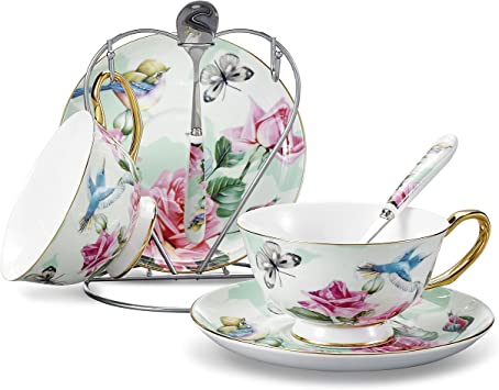 Tasse et soucoupe Stands présentoirs pour tasse et soucoupes