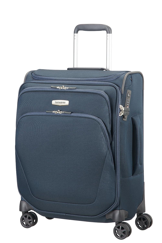 Bleu 55 cm Bleu 43 liters SAMSONITE Spark SNG Spinner 55//20 with SmartTop Bagage cabine