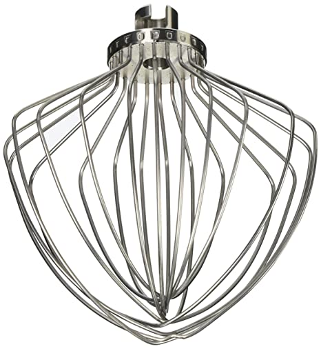amazon com kitchenaid kn211ww 11 wire whip for 5 and 6 quart lift