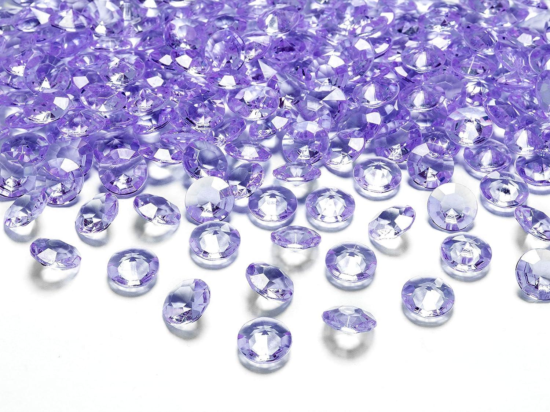 MultiProject - Piedras decorativas de diamantes, 12 mm, 1,2 cm, piedras acrílicas