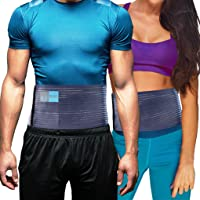 Everyday Medical Umbilical Hernia Belt - For Women and Men – Abdominal Hernia Binder for Belly Button Navel Hernia Support, Helps Relieve Pain - L/XL