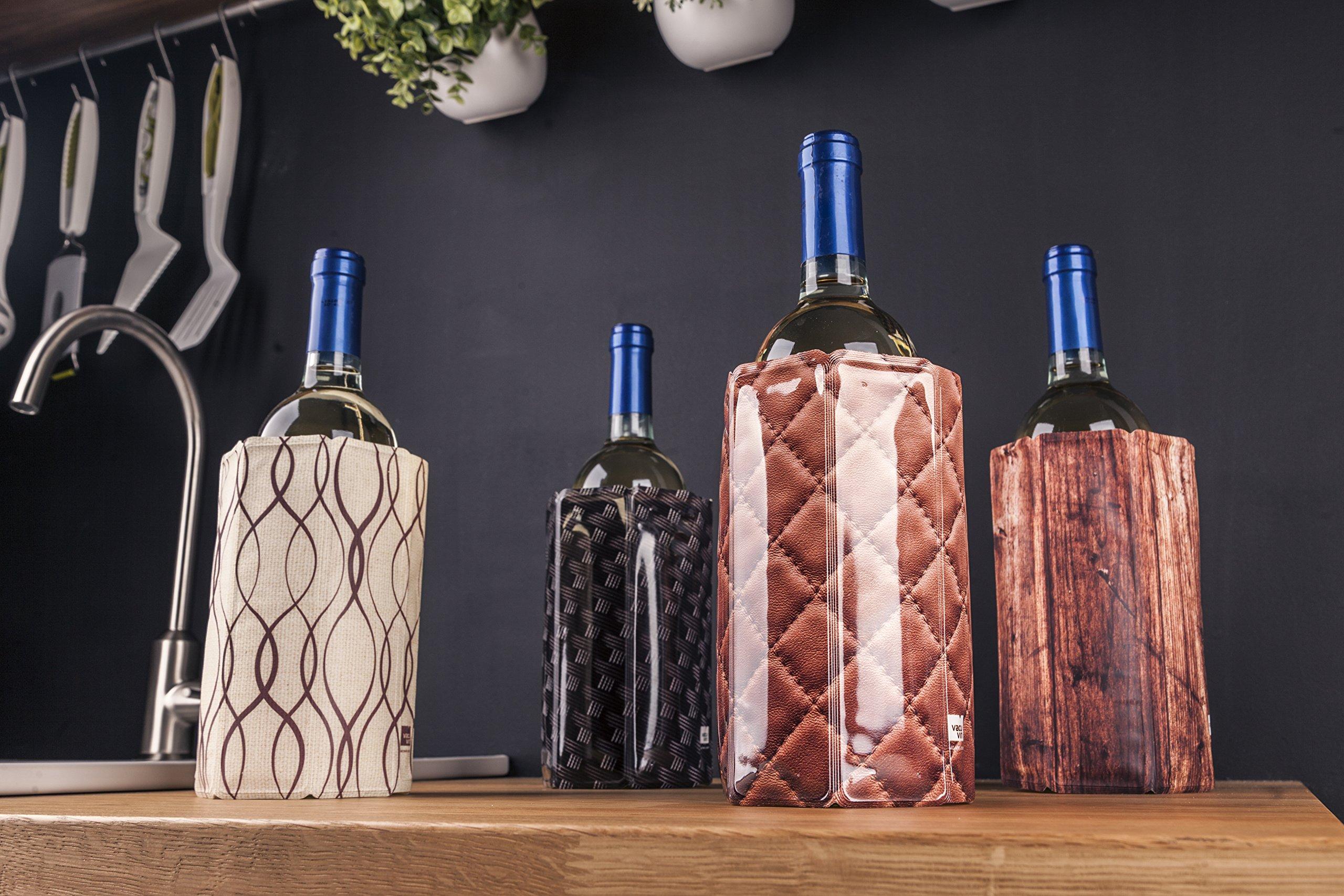 Vacu Vin Rapid Ice Wine Cooler - Chrome by Vacu Vin (Image #3)