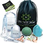 Facial Cupping - Cupping Therapy Set - Facial Cupping Set with