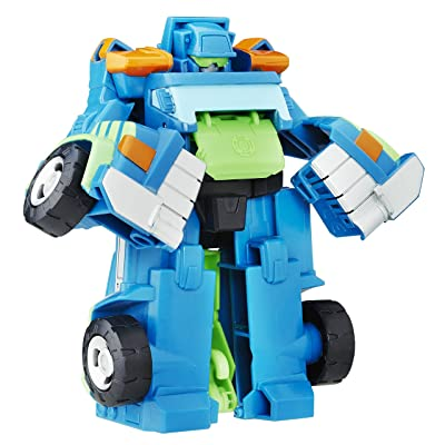 Playskool Heroes Transformers Rescue Bots Rescan Hoist The Tow Bot Action Figure: Toys & Games